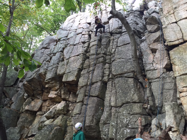 2015 Fall Rock Climbing at Sugarloaf