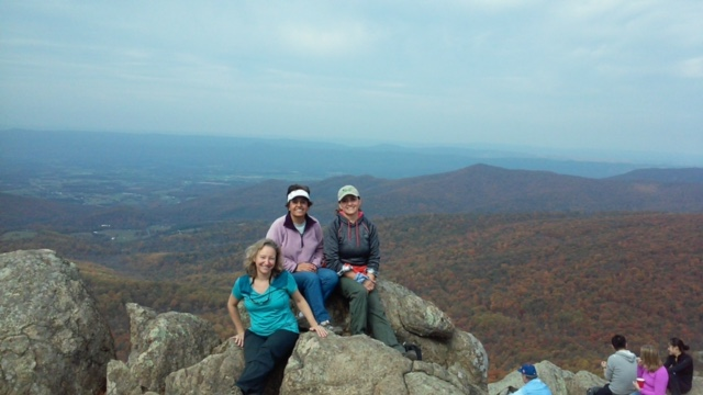 2015 Fall Shenandoah Summit Sampler Hike