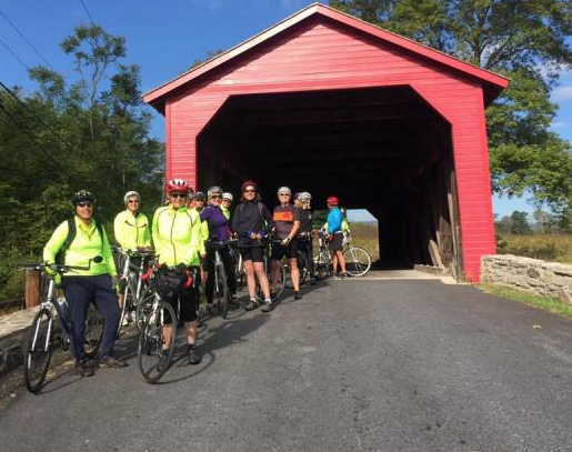 Three Covered Bridges of Frederick County Bicycle Ride