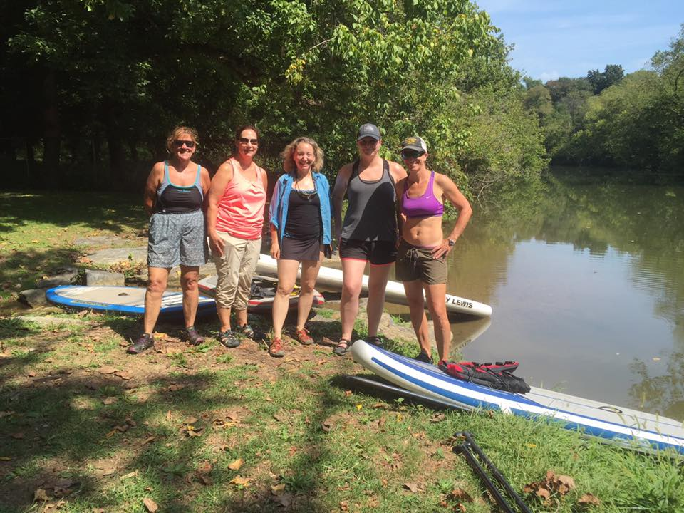 2016 Fall Stand Up Paddleboard Lessons