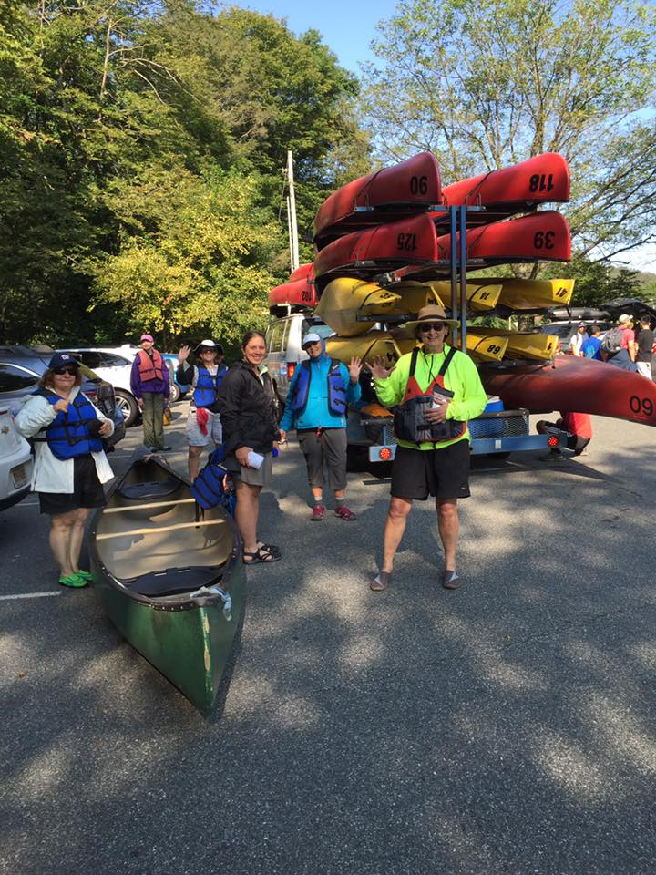 2016 Fall Delaware Water Gap Canoeing and Camping Trip