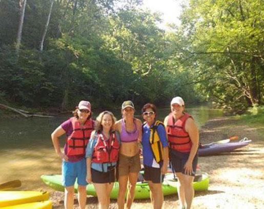 Potomac River Sea Kayaking Trip