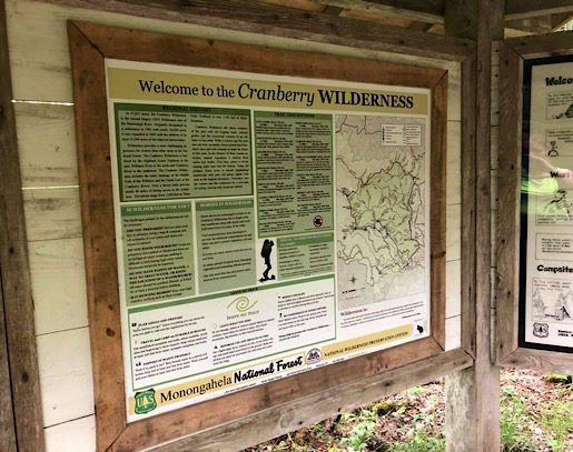 Cranberry Wilderness Two Night Backpacking Trip