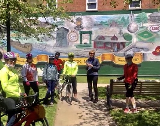 Scenic C & O Towpath Ride from White's
